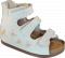 Белые ортопедические сандалии для девочки