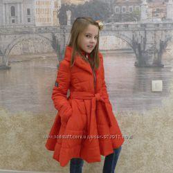 Пальто  на весну для девочек