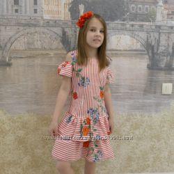 Платье детское на лето