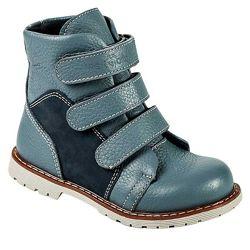 Детские ортопедические ботинки с высоким берцем