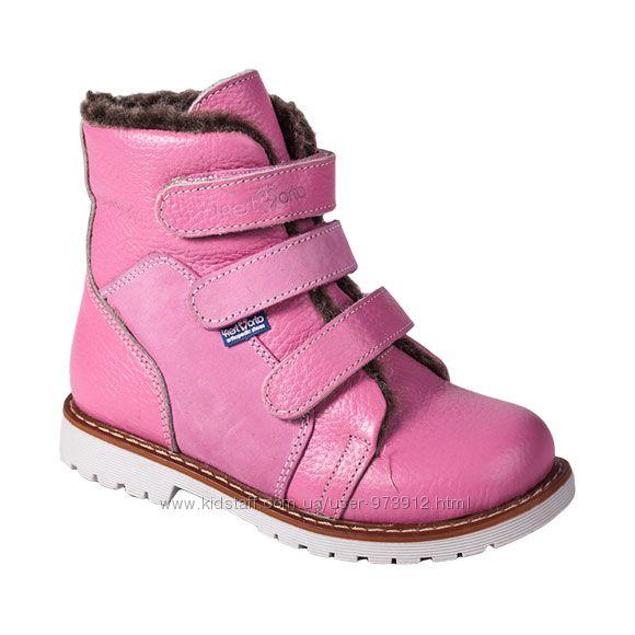 Ортопедические зимние ботинки вальгус