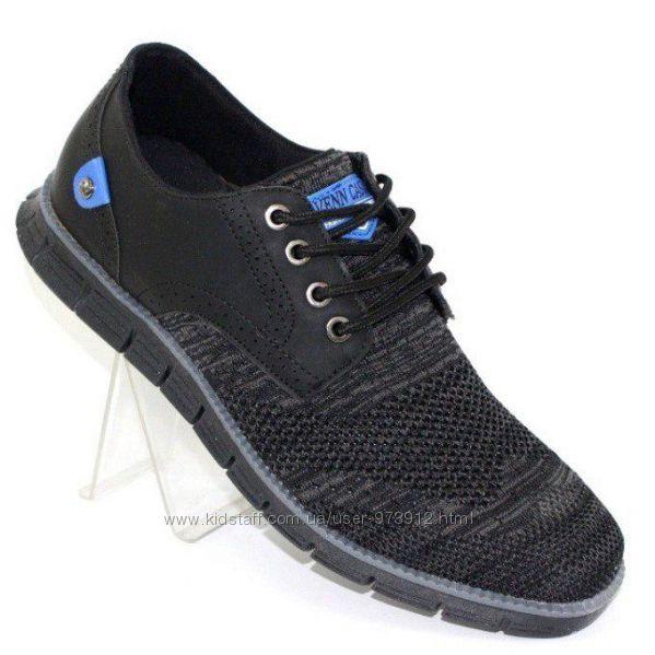 Мужские текстильные туфли