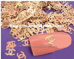 Металические украшеныя для ногтей