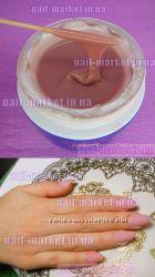 Гель УФ для наращивания ногтей Master Professional камуфлирующий pink
