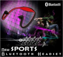 Спортивные беспроводные стерео наушники Bluetooth 3. 0
