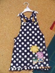 Летние фирменные платья на девочку 4-5 лет