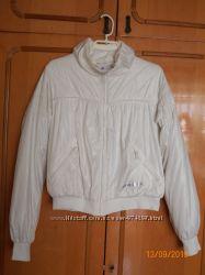 Куртка ADIDAS белая размер М- Л