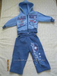 костюм спортивный для мальчика р. 74 хлопок, вискоз, акрил, Турция, бу