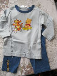 пижама на мальчика р. 62-68, хлопок, новая, Турция