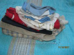Пакет одежды для мальчика от 0 до 6мес. ,обменяю