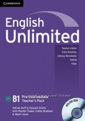 English Unlimited B1. Teachers Pack with DVD-ROM