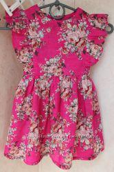 Продам яркое летнее платье для девочки