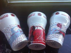 Набор. Коллекционные стаканы Сoca-Cola Кока-Кола. Футболу посвящается