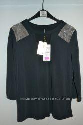 Новая кофточка блузка тёмно-серого цвета, Stradivarius, р. S, M
