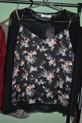 Новая женская блузка с длинным рукавом, Promod, р. L