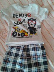футболка и шорты на мальчика