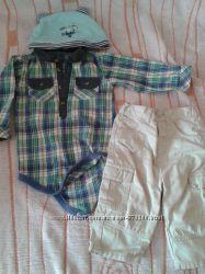 пакет фирменных вещей на мальчика
