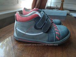 кожаные ботинки Perlina