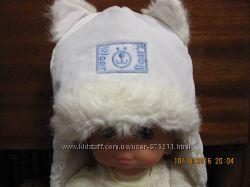 Продам тёплую зимнюю шапку на ребёнка 1-2 года