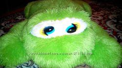 Мягкая игрушка лягушка большая зеленая сиденье