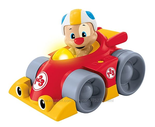 Машинка Fisher-Price Laugh & Learn Puppy&acutes Press &acuten Go