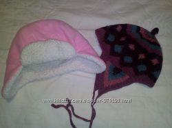 шапочки для девочки 1-2 года