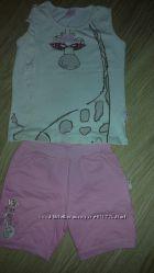 Продам летний костюмчик AZIZ для девочки
