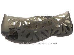 Балетки Crocs Black Adrina III Оригинал из Америки W7, W8, W9, W10