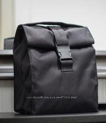 Термо Ланчбег Черный - сумка для обедов