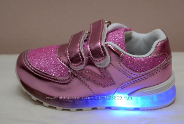 Кроссовки с лед подсветкой Шалунишка р 22