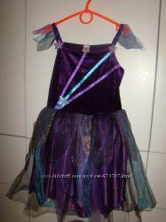 Карнавальное платье ночь Tesco на 9-10 лет р. 140 см