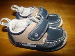 Туфли мокасины Clarks р. 4 G на 20 12, 5 см по стельке