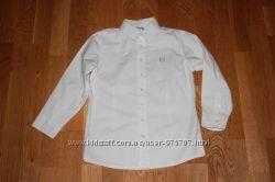 Фирменные рубашки Next и др. на 6-7 лет рост 116-122 см