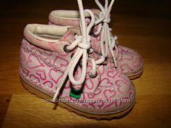 Демисезонные ботиночки Kic Kers Франция р. 22 14 см по стельке