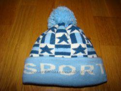 Стильная тепленькая шапочка на 0, 5-1, 5  года