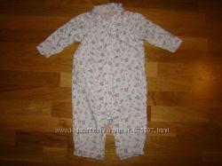 Человечек пижама Next на 9-12 месяцев рост 80 см
