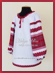 Детская туника-блуза с вышивкой Намисто
