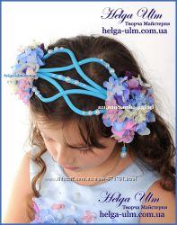 Головний убір для святкової сукні Вальс квітів, на замовлення