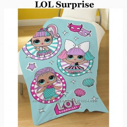 Флисовое одеяло LOL Surprise от George