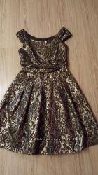 Нереально красивое и нарядное платье zara