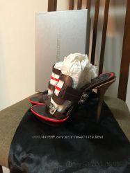 Босоножки открытые Gianmarco Lorenzi оригинал Италия кожа Новая коллекция