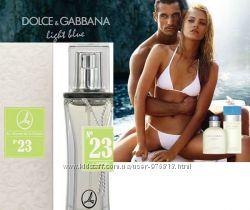 женская парфюмерная вода Ламбре 23 - Light Blue от Dolce & Gabbana