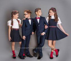 школьная форма, шикарные костюмы для стильных парней тм новая форма