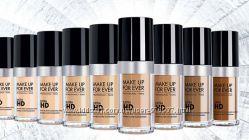 Make Up For Ever тональный HD foundation travel size