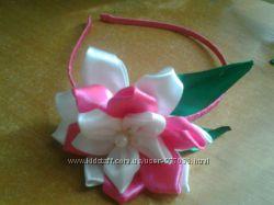 Ободок  с цветочком