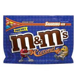 Драже M&M&acutes Caramel из США
