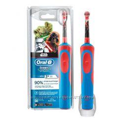 Электрические зубные щетки Oral-B для детей и взрослых