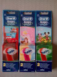 Насадки для детских электрических зубных щеток Oral-B
