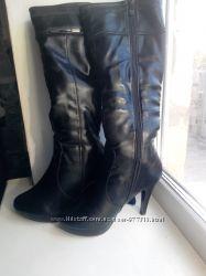 сапоги, ботинки, зима