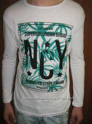 Мужская футболка с длинным рукавом Новая   р 42, 44, 46, 48, 50  состав 95